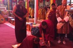 Intronisation Chokyi Nyima Rinpoche 2 (14)