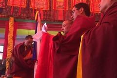 Intronisation Chokyi Nyima Rinpoche 2 (17)