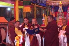 Intronisation Chokyi Nyima Rinpoche 2 (3)